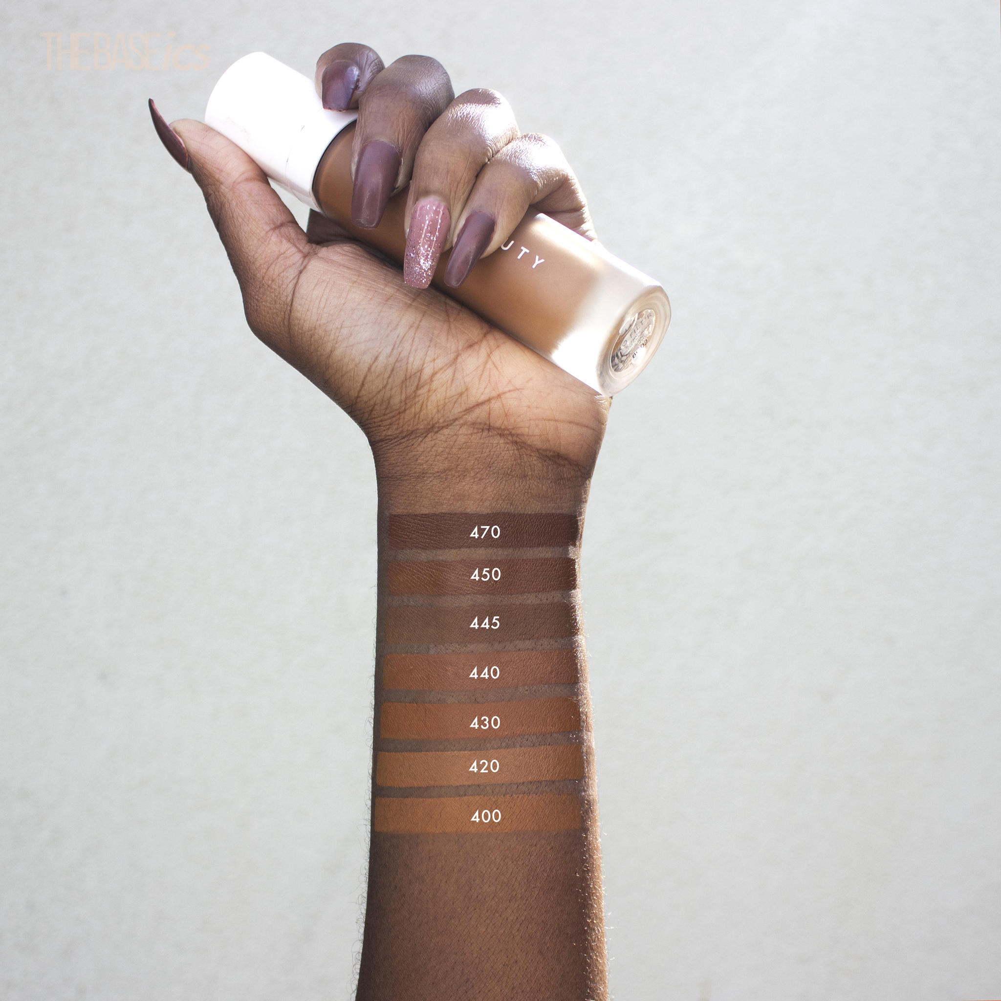 Fenty Beauty Pro Filt R Soft Matte Longwear Foundation The Baseics
